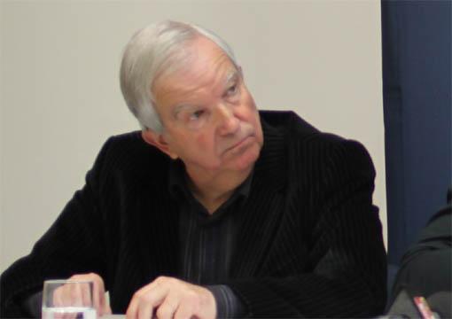 Robert Molines, ancien président du MAHB, le 2 février 2013 (photo : J.-O. T.)