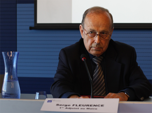 Serge Fleurence, premier adjoint PS au maire de Montpellier le 18 avril 2013 (photo : J.-O. T.)