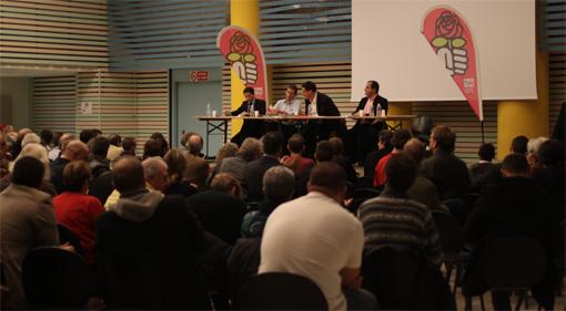 Réunion des militants PS le 13 novembre 2012 à Montpellier (photo : J.-O. T.)