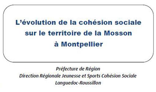 Entête du rapport Territori de mai 2012 sur le quartier de La Mosson (Paillade et Haut de Massane) à Montpellier