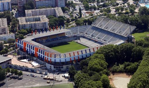 Le stade de La Mosson à Montpellier (document : A+ architecture)