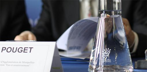 Le rapport sur la gestion de l'eau reste entre les mains de Louis Pouget, vice-président de l'agglo de Montpellier en charge de l'eau (photo : J.-O. T.)