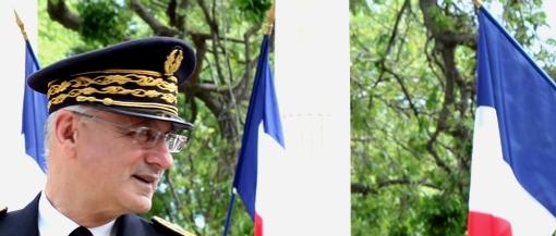 Pierre de Bousquet de Florian, préfet de l'Hérault, le 8 mai 2013 à Montpellier (photo : J.-O. T.)