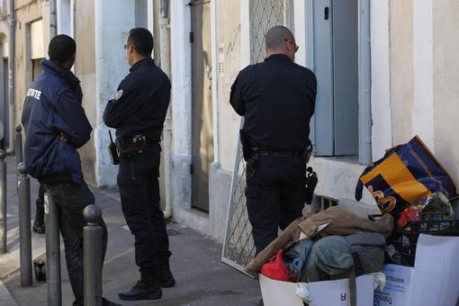 Expulsion illégale d'un squat dans le quartier Figuerrolles à Montpellier le 7 novembre 2013 ? (photo : J.-O. T.)
