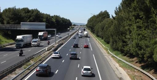 Le doublement de l'autoroute A9 à Montpellier : un sujet de désaccord entre EELV et PS (photo archive : J.-O. T.)