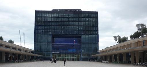 L'hôtel de ville de Montpellier objet de toutes les manoeuvres (photo : J.-O. T.)
