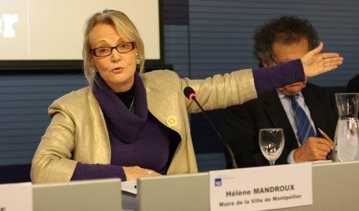 Hélène Mandroux le 18 novembre 2013 (photo : J.-O. T.)