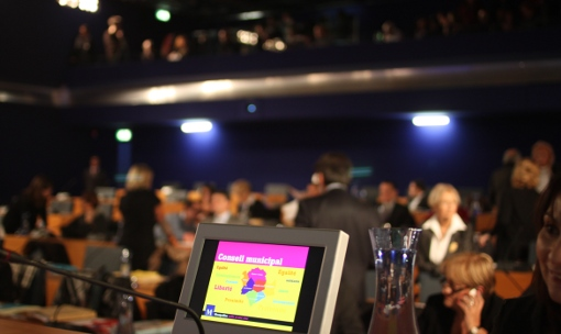 En conseil municipal de Montpellier le 16 décembre 2011 (photo : J.-O. T.)