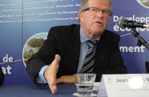 Jean-Pierre Moure le 3 juillet 2013 (photo : J.-O. T.)