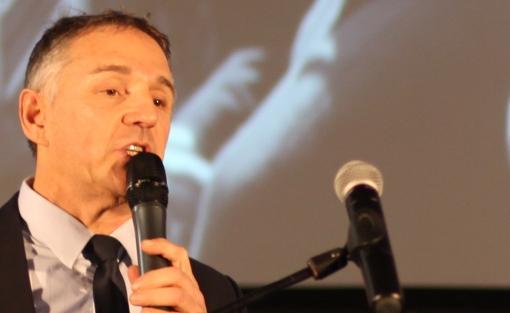 Patrick Vignal, directeur de campagne de Jean-Pierre Moure (PS-EELV) le 31 janvier 2014 (photo : J.-O. T.)