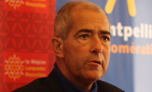 Chrisitan Bourquin, président de la région Languedoc-Roussillon, le 20 mai 2014 (photo : J.-O. T.)