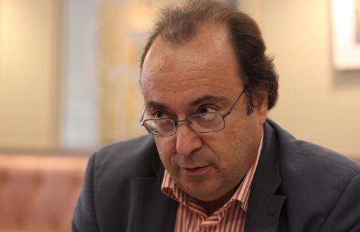 Jean-Louis Gély le 4 septembre 2013 (photo : J.-O. T.)