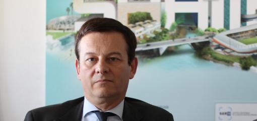 Thierry Laget, directeur général de la Serm et de la Saam, le 28 avril 2014 (photo : J.-O. T.)