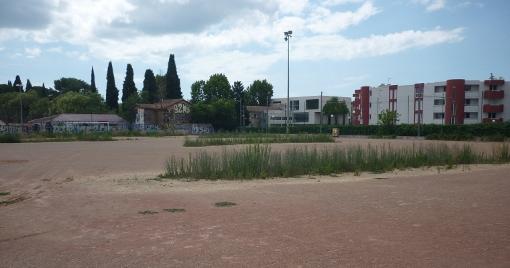 Le stade du père Prévost le 23 juillet 2014 (photo : J.-O. T.)