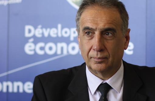 Christian Fina, directeur général de la Ville et de l'Agglo de Montpellier le 9 avril 2013 (photo : J.-O. T.)