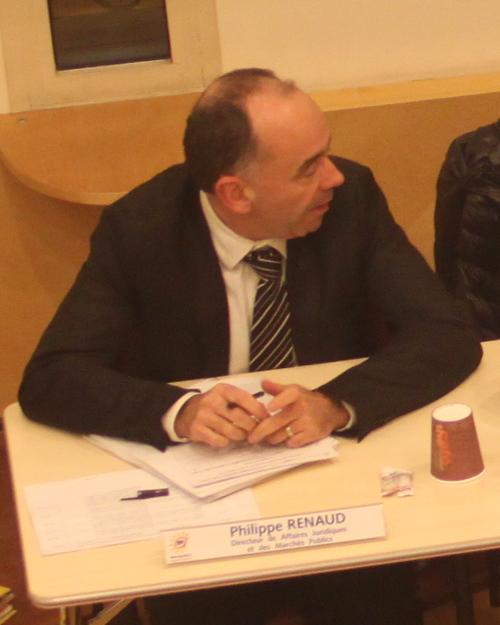 Philippe Renaud, directeur juridique de l'Agglomération de Montpellier le 20 décembre 2012 (photo : J.-O. T.)