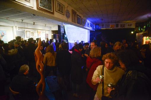 Lors de la soirée Montpellier journal le 7 mars 2015 à L'Atelier du nord (photo : Alain Arnal, instanproduction)