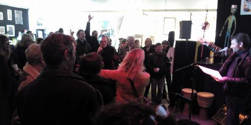 Lors de la soirée Montpellier journal le 7 mars 2015 à L'Atelier du nord (photo : Nicolas Séné)