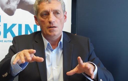 Philippe Saurel, maire de Montpellier, le 26 février 2015 (photo : J.-O. T.)