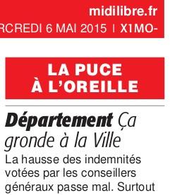 Midi Libre du 7 mai 2015