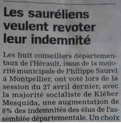 La Marseillaise du 15 mai 2015