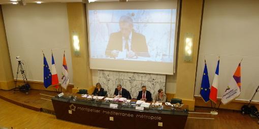 Conseil de métropole de Montpellier le 2 février 2015 (photo : J.-O. T.)