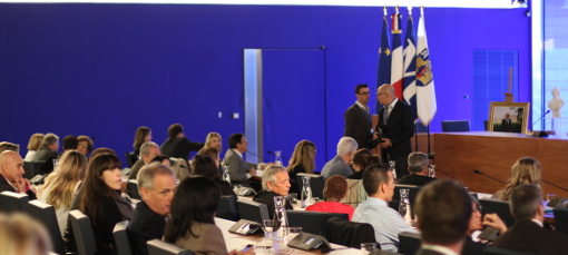 En conseil municipal de Montpellier le 5 avril 2014 (photo : J.-O. T.)