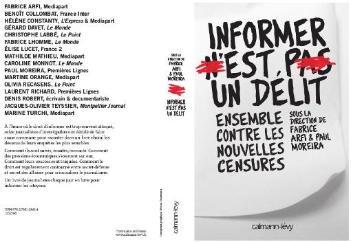 Livre : Informer n'est pas un délit