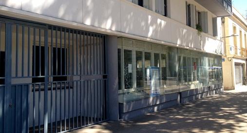 Les locaux de l'ancienne Maison des associations, cours Gambetta à Montpellier le 7 septembre 2015 (photo : Lucie Lecherbonnier)