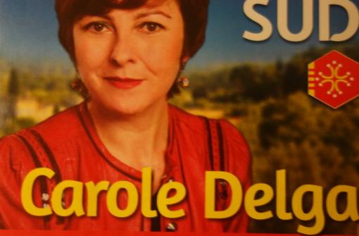 Extrait d'un tract de Carole Delga (PS) pour la campagne des régionales 2015