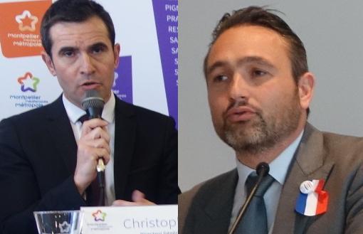 Christophe Perez, directeur de la SERM-SAAM le 27 janvier 2015 et Xavier Bringer, président de la fédération des promoteurs immobiliers du Languedoc-Roussillon le 11 mars 2016 (photos : J.-O. T.)