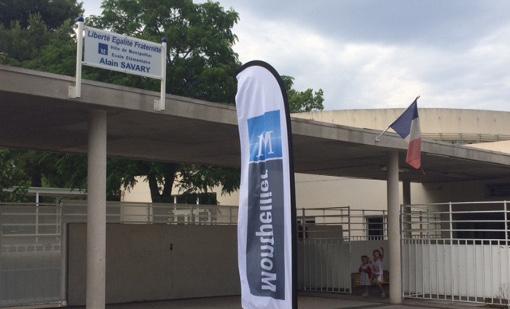 L'école Alain Savary dans le quartier Bagatelle le 20 juin 2016 (photo : Lucie Lecherbonnier)