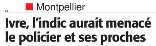 Titre de l'article de Midi Libre du mardi 5 juillet 2016
