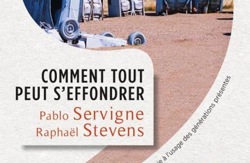 """Extrait de la couverture de """"Comment tout peut s'effondrer"""" de Pablo Servigne et Raphaël Stevens"""