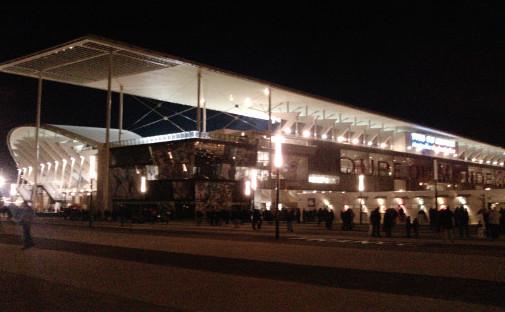 Le stade Yves-du-Manoir le 6 mars 2010, devenu Altrad Stadium (photo CC ArnoDe4)