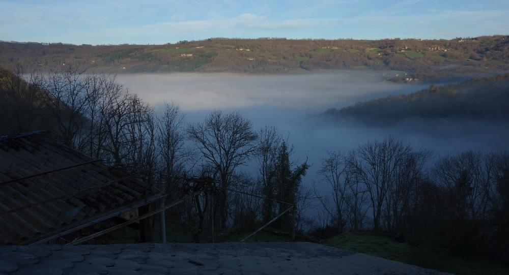 Vu de notre maison, au petit matin (photo : J.-O. T.)